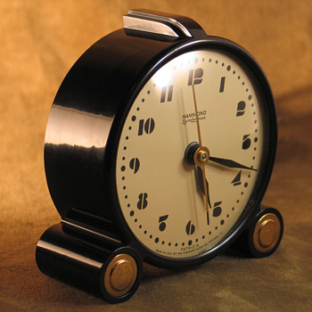 Hammond 'Patricia' Alarm Clock - Clocks