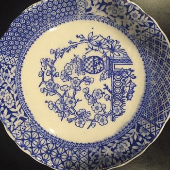 How to identify this unmarked transferware