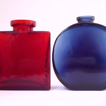 Klaus Breit Bottle Vases for Wiesenthalhuette - Art Glass