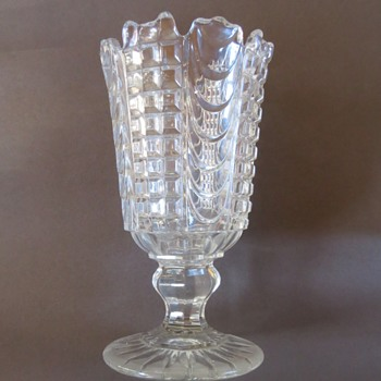 Pressed Glass Celery Vase?