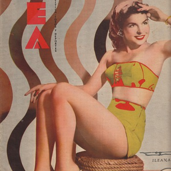 Vea Magazine Hot Mexican Pin-Ups from the 1950s Collection Jim Linderman