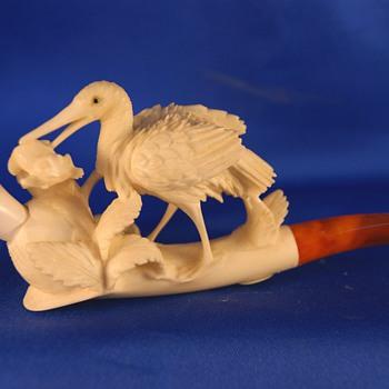 Stork & Frog - Tobacciana