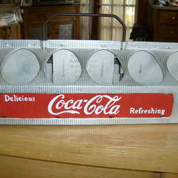 Aluminum Coke Carrier - Coca-Cola