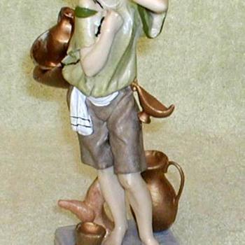 Grecian Waterboy Figurine - Italy