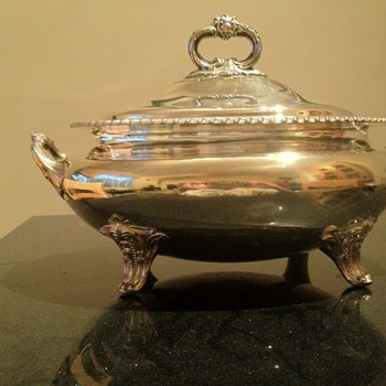 Silver Plated Soup Tureen - Sterling Silver