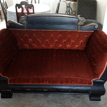 "my ""new"" velvet couch/sofa - Furniture"