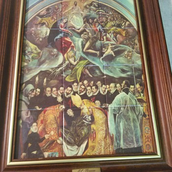 EL GRECO MOC TILE ART - Visual Art