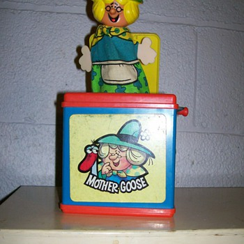 1971&#039;s Mother goose working music &quot;Jack in the box &quot; - Toys