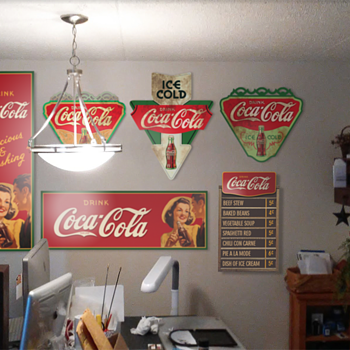 """Home-Made"" Coca-Cola signs - Coca-Cola"