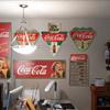 """Home-Made"" Coca-Cola signs"