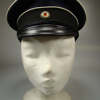 Model 1880 Unidentified Prussian Landwehr or civil official visor cap