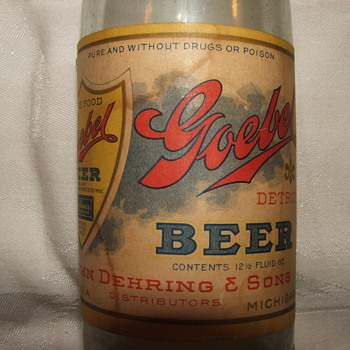 Goebel - John Dehring & Sons Distributors - Pure & Without Drugs or Poison