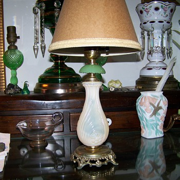 Little Pink and Green Lamp