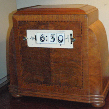 Pennwood Numechron Model #305 with Adler-Royal Cabinet - Clocks