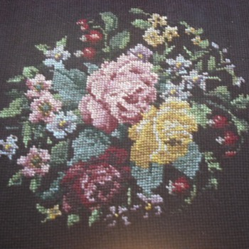 Great-Great Grandmother's Needlepoint - Sewing