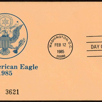 1985 - Official Mail Stamp First Day Cover