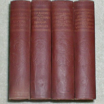 Washington Irving - (4) Volume Set