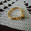 Very Old Gold &amp; Garnet Ring