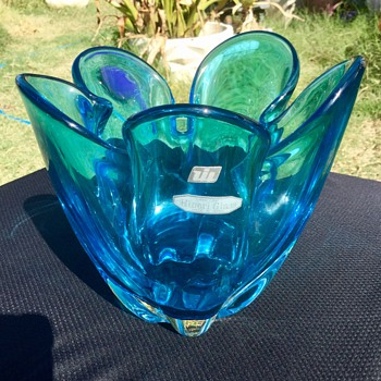 Hineri deepest blue - Art Glass