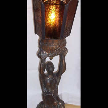 DECO LADY LAMP - Art Deco