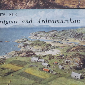 1950s Tourist books for Scottish Highlands - Paper