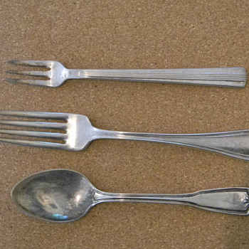 Railroad Dining Car Flatware Part 2