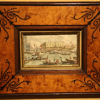 Beautiful Venetian Print - Souvenir from a Grand Tour? - Posters and Prints