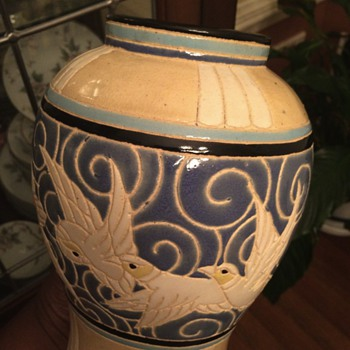 Frere Boch or Catteau style Swallow Vase? - Pottery
