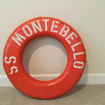 S.S.MONTEBELLO LIFE RING