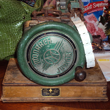 Monarch Junior Hand-Crank Stamp Machine? - Stamps