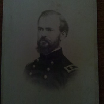 Civil War CDV of Union General James B McPherson KIA Atlanta 1864
