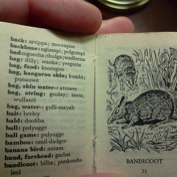 Lilliput Aboriginal Dictionary - Books