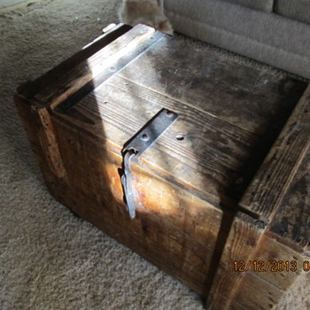 Small  Strong Box - Furniture