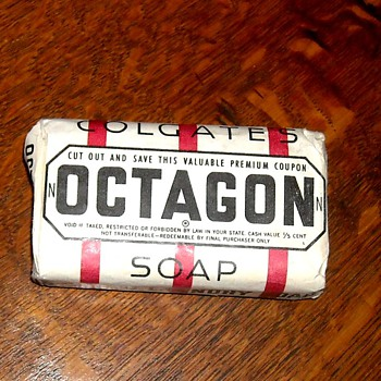 Colgate Octagon Soap Circa 1930s - Kitchen