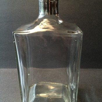 Vintage glass bottle (Government issue of some sort?)