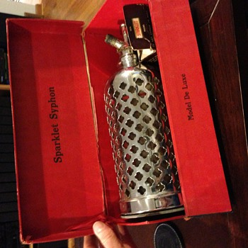 Art Deco Sparklet Syphon w/ Original Box - Art Deco