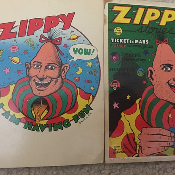 Bill Griffith Zippy postcards