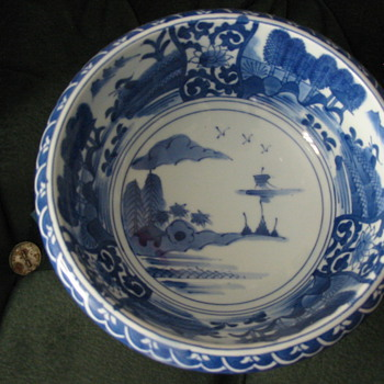 Large Bowl from Japan. - Asian