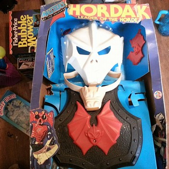 1980's MASTERS OF THE UNIVERSE HORDAK PLAY SET MINT - Toys