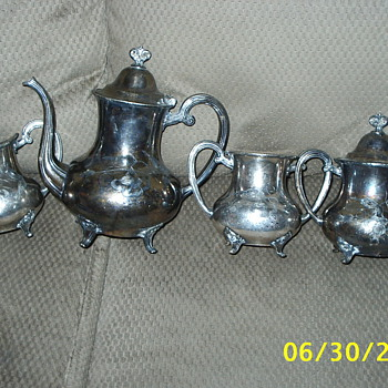 Silver set given to me