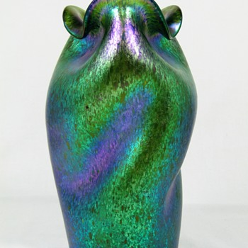 Loetz Crete Ciselé ca. 1899 - Art Glass