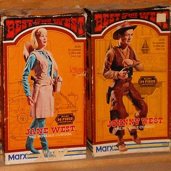 Johny and Jane West in Best of the West Boxes - Toys