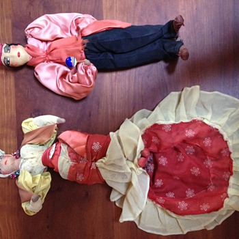 recently found Cuban Dolls - Dolls
