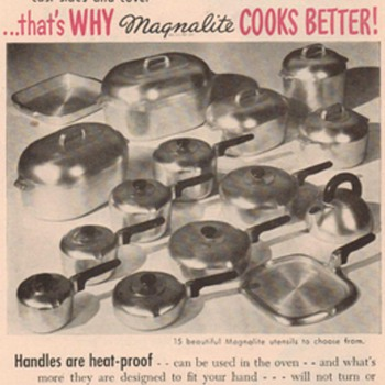 1950 Magnalite Cookware Advertisement