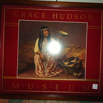 Grace Hudson Museum, Pomo Indian print