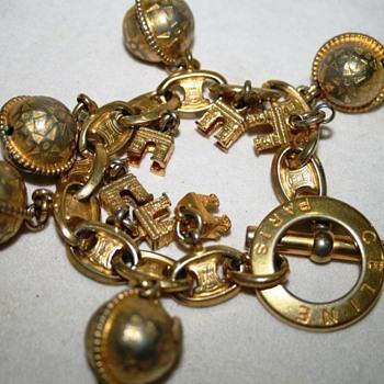 Celine Charm Bracelet - Costume Jewelry