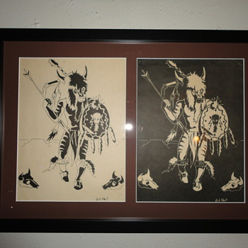 Dick West Originals - Native American