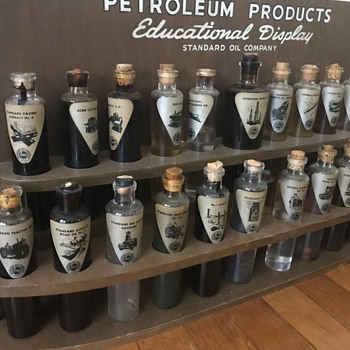 Standard oil education display