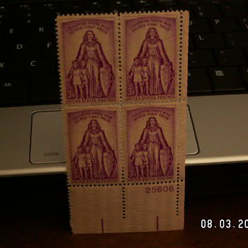 1957 Honoring Those Who Helped Fight Polio 3¢ Stamp