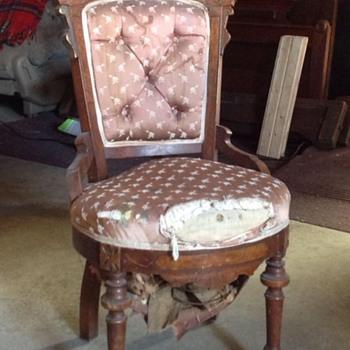 Victorian Chair circa 1856